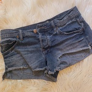 Free people jean shorts!